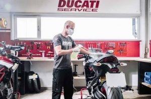 Reparto Ducati Service