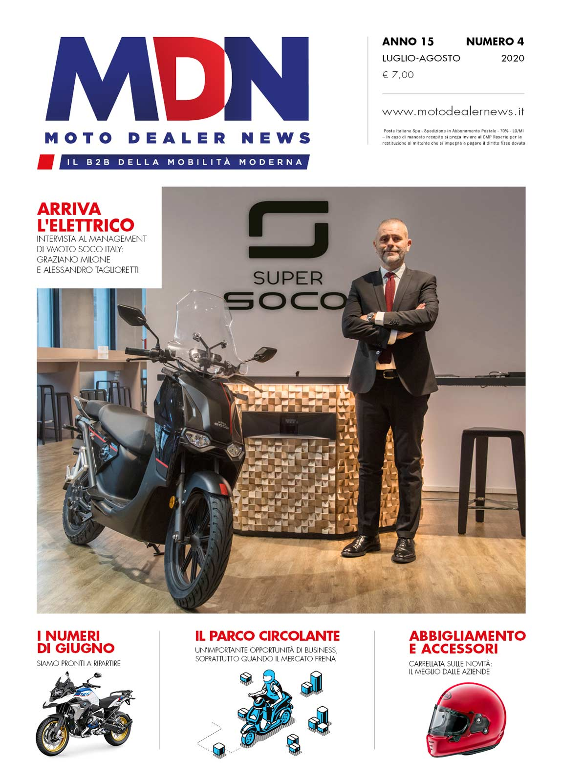 Moto Dealer News - luglio-agosto 2020